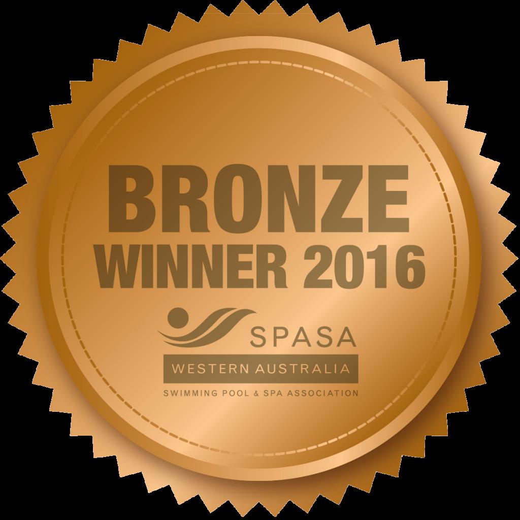 SPASA Bronze Medal Winner 2016